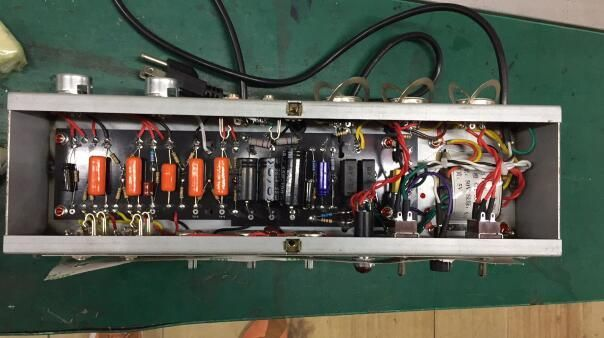 5E3 Fender Style Hand Wired Amp Chassis