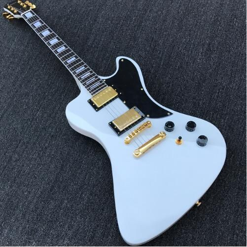 RD Style Electric Guitar in Alpine White
