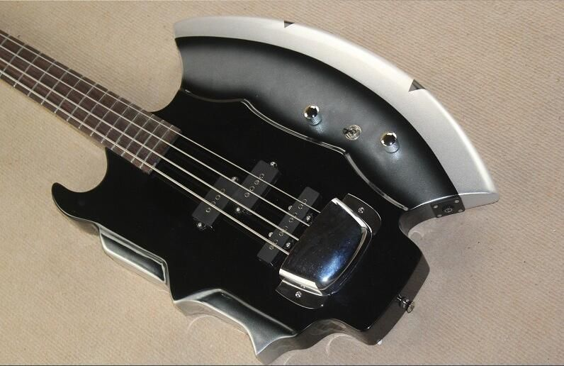 4-String Bass Guitar with Axe Signiture