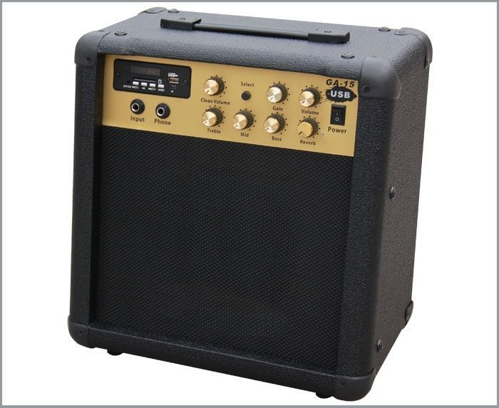 Guitar Amplifier Combo 15w with USB
