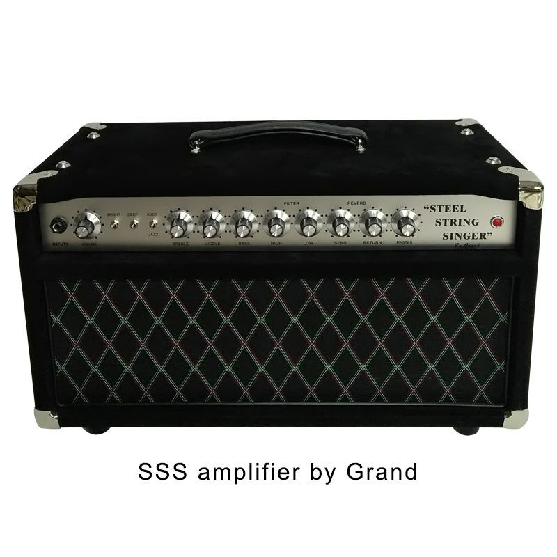 Deluxe Handwired Dumble Clone Steel String Singer SSS Guitar Amplifier 50W