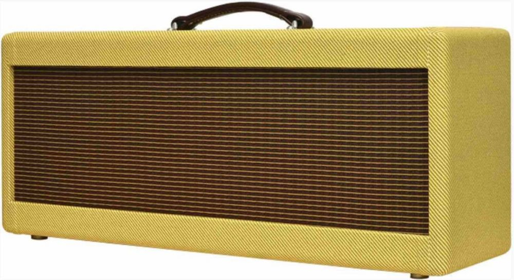 Narrow Panel High Power Style Tweed Guitar Amplifier Head Cabinet