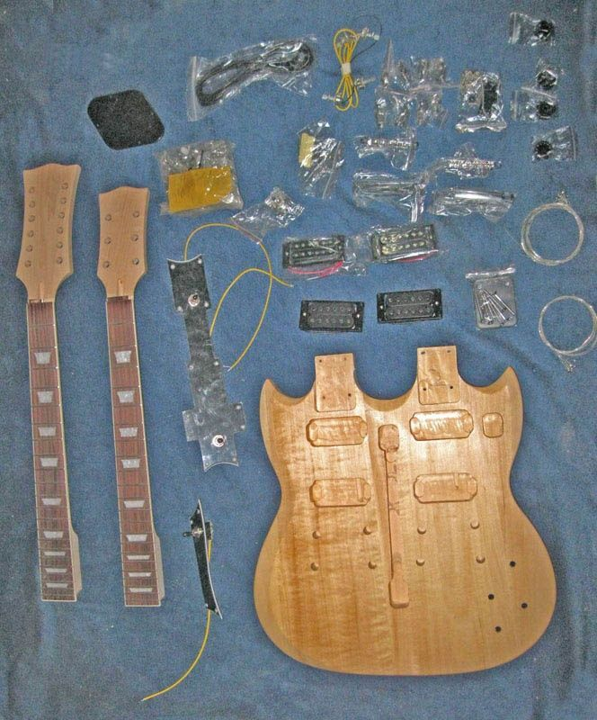 Unfinished Guitar Kits  A15