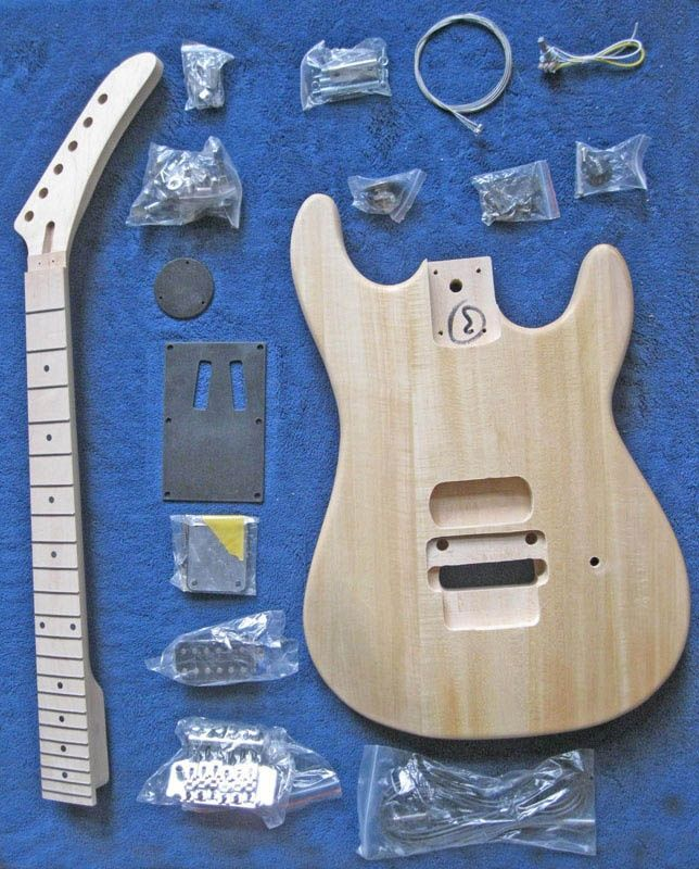 Unfinished Guitar Kits  A16