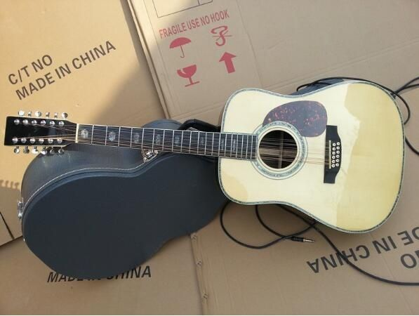Martin Natual Solid D45 with 12 Strings