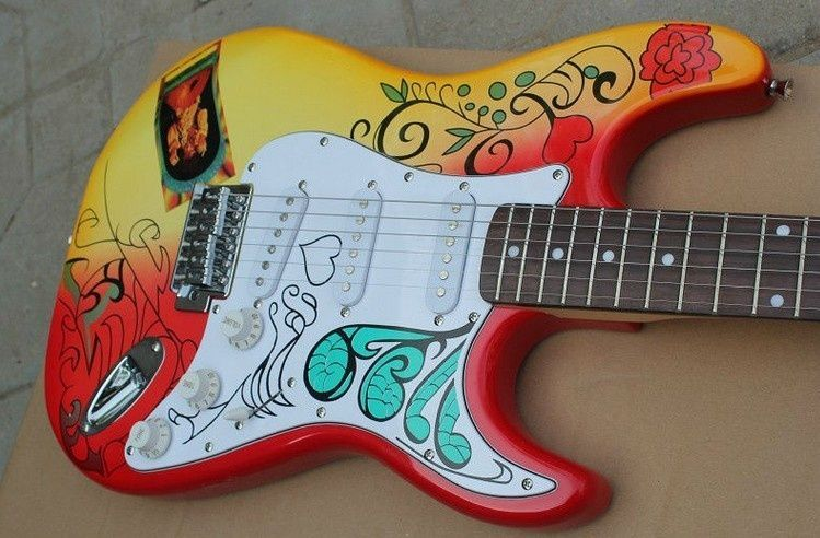 Stratocaster Style with Water Transfer