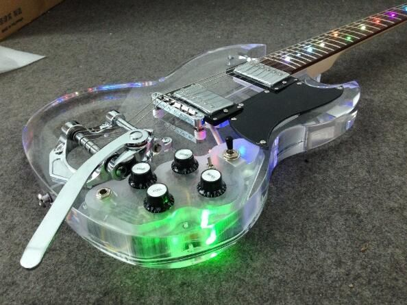 SG Arcylic with Led and Bigsby Bridge