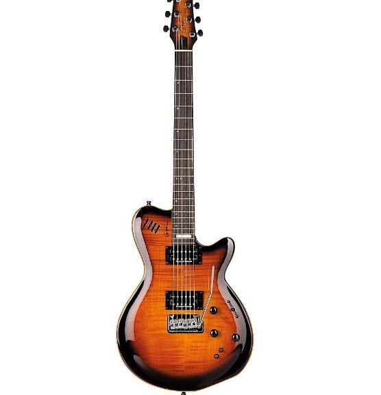 LGXT AA Flamed Maple Top