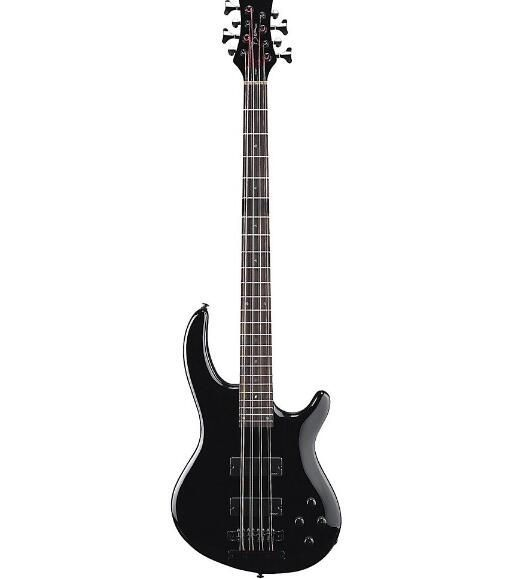 Edge 8 8-String Electric Bass Black