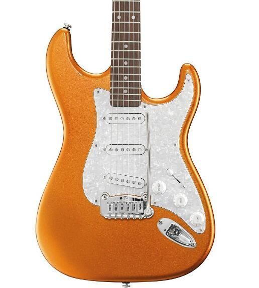 G&L Legacy Electric Guitar Tangerine