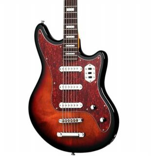 Hellcat VI Electric Guitar 3-Color Sunburst