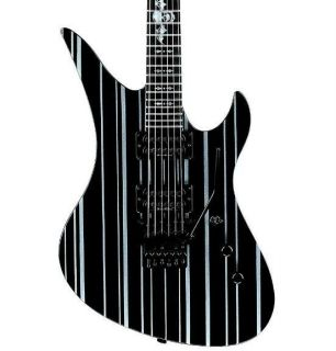 Synyster Standard Electric Guitar Black Black