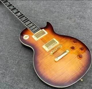 LP with Cutouts Ebony Fingerboard Abalone Inlay