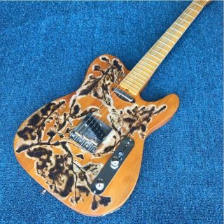 Kappaite Fire Sculpture TELE Electric Guitar