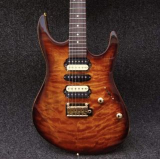 Suhr Moden Sunburst Deluxe Electric Guitar