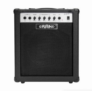 35 Watt Solid State Bass Amplifier Combo in Black