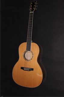 AAAAA All Solid OO Body Acoustic Electric Guitar