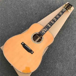 Solid Cedar Top D Style Acoustic Guitar with Fishman EQ