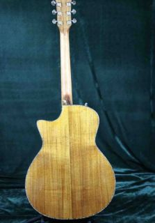 PS14AA Luxury Acoustic Guitar Full Solid AAA Koa Top & Back Side Real Abalone Inlay Ebony Fingerboard One Piece Wood Neck