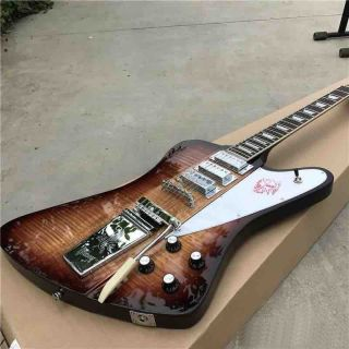Custom Firebird Electric Guitar in Sunburst