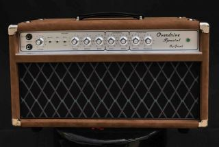 Grand Ods50 Overdrive Special Guitar Amplifier Dumble Clone Deluxe AMP Replicas in Brown