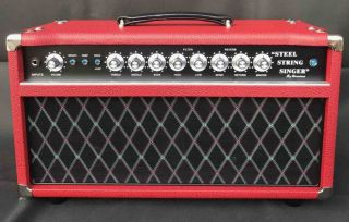 Custom Grand AMP D-Style Pedals SSS100 Steel String Singer Amplifier 100W with Volume, Treble, Middle, Bass, High, Low, Send, Return, Master Control