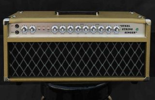 Grand Amplifier D-Style Pedals SSS100 Steel String Singer with FET GAIN, VOLUME, TREBLE, MIDDLE, BASS, HIGH, LOW, SEND, RETURN, MASTER, PRESENCE Control
