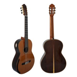 Yulong Guo Handmade Double Top Classical Guitar Model Chamber Nomex Double Top Classic Guitar