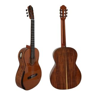 Yulong Guo Handmade Double Top KOA Body Concert Grade Classical Guitar Nut width 52MM String Scale 650MM