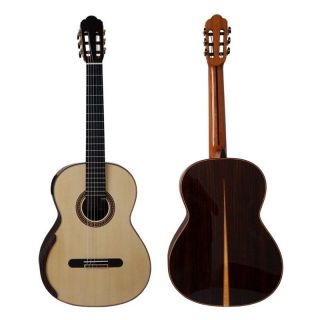 Yulong Guo Handmade Double Top Classical Guitar Model Chamber