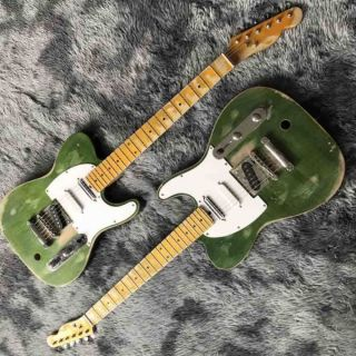 Grand Custom Status Quo Electric Guitar in Green
