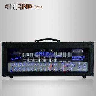 Grand Guitar Amp Head 120W The Monsters of High Gain 2 x 6550 6 x 12AX7 with 4 Channels