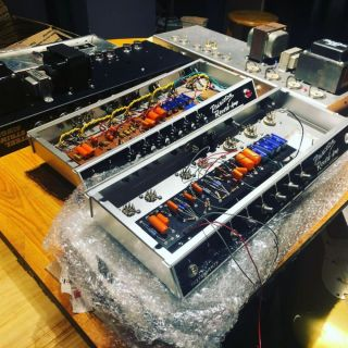 Custom Princeton Reverb BalckFace SSS Electric Guitar Amplifier Chassis Project JJ Tubes