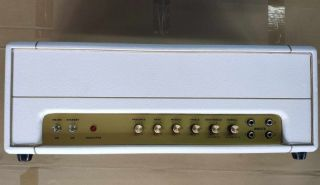 Custom JTM45 Point to Point Guitar Tube Amp Head 50W in White 12AX7*3,EL34*2,5AR4*1
