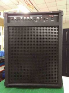 Custom Grand Bass Amplifier Combo150W Bright, Boost, Aux in 15 Inch Bass Speaker Guitar Amp Combo