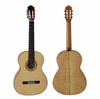 High Level Handcrafted Flamenco Classic Guitar Ebony Fingerboard Nut& Saddle Ox Bone String Scale 650MM Wood Binding