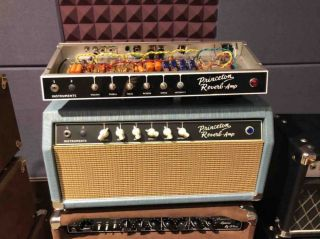 Custom Grand Princeton Reverb Amp Guitar Amplifier COMBO HEAD 15W 1*12 Inch JENSON Speaker Based on AA1164 Circuit