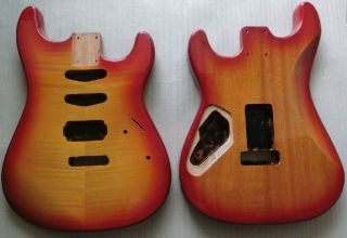 Strat Guitar Body STM