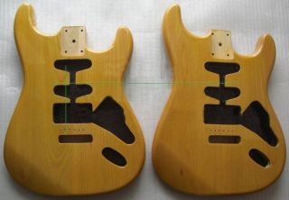 Ash Wood Guitar Body