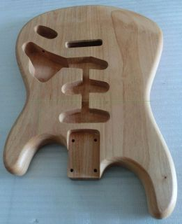 Alder, Ash Wood ST/SQ Guitar Body