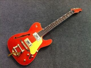 Tele Semi Hollow Body F Hole