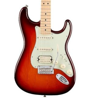 Deluxe HSS Strat with Maple Fingerboard